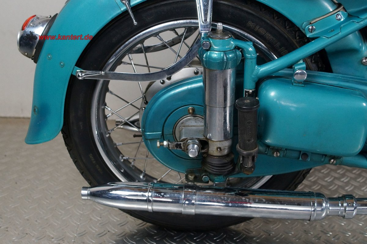1954 Adler MB 200, 195 cc, 11 hp For Sale (picture 7 of 12)