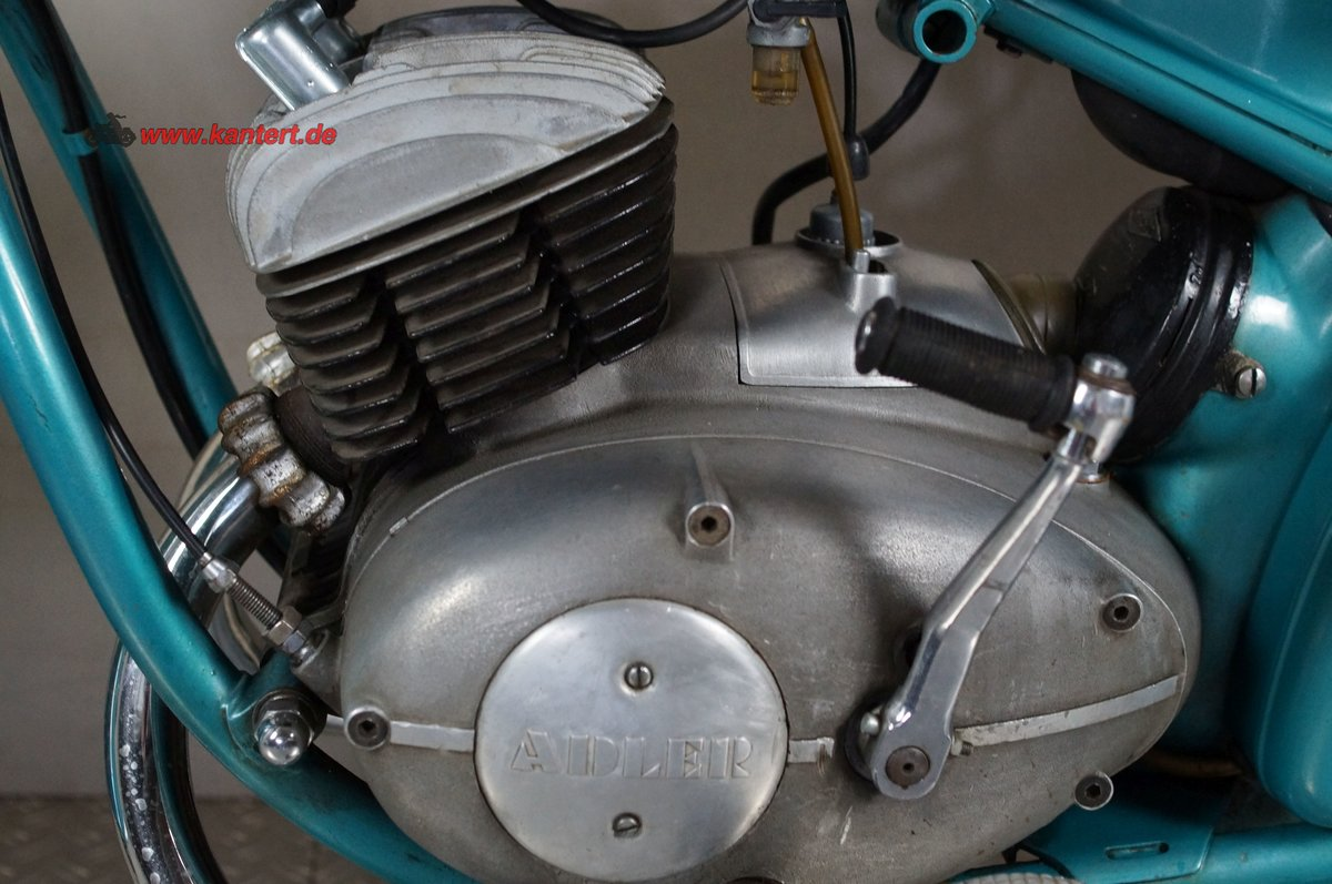 1954 Adler MB 200, 195 cc, 11 hp For Sale (picture 10 of 12)