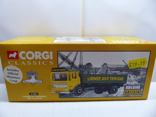 AEC DROPSIDE LIMMER AND TRINIDAD-1:50 SCALE For Sale (picture 1 of 6)