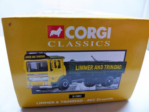 AEC DROPSIDE LIMMER AND TRINIDAD-1:50 SCALE For Sale (picture 3 of 6)