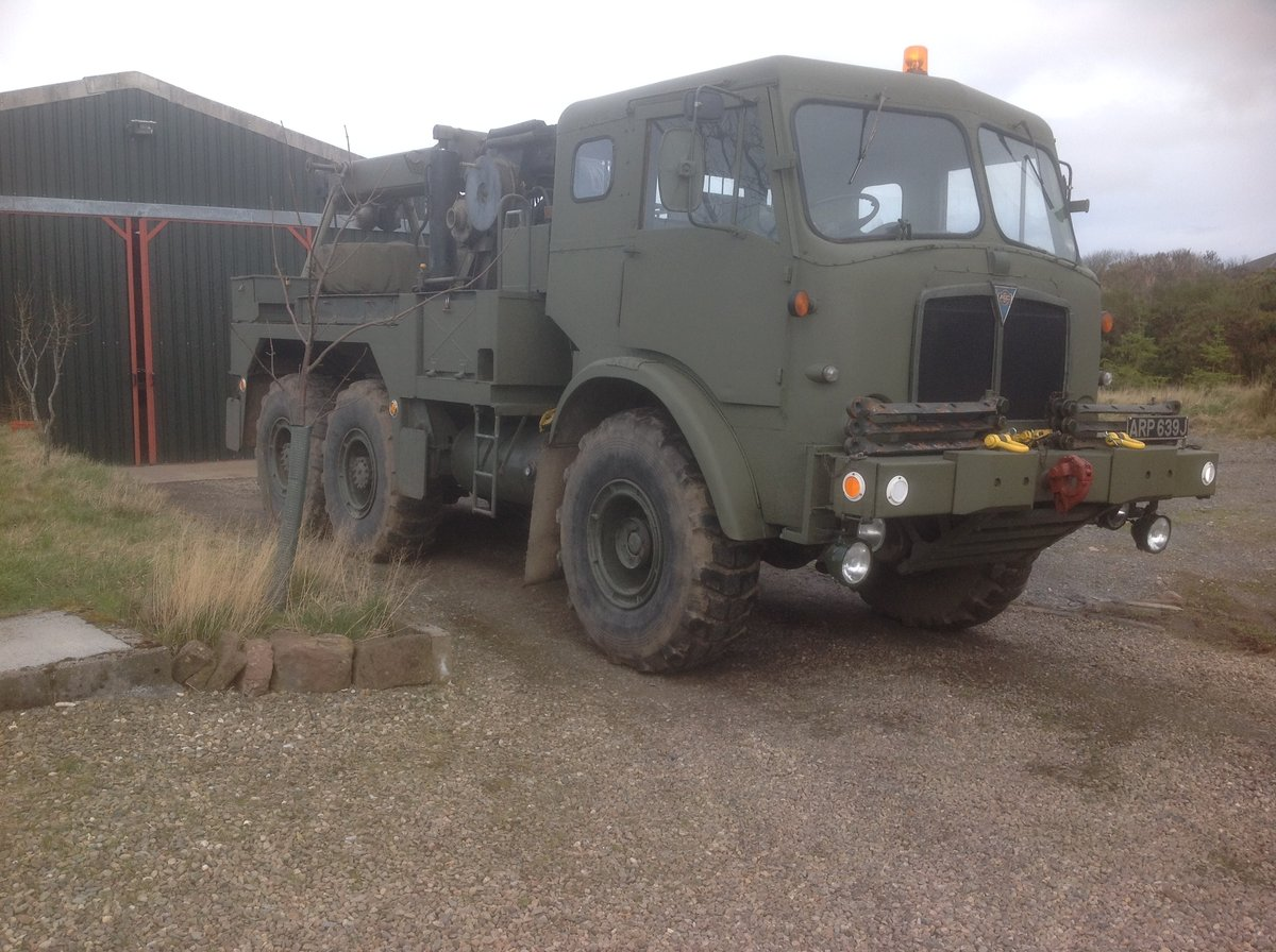 1970 Ex Army AEC Militant Mk3 Recovery For Sale (picture 1 of 6)