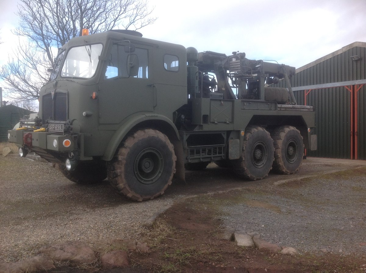 1970 Ex Army AEC Militant Mk3 Recovery For Sale (picture 2 of 6)