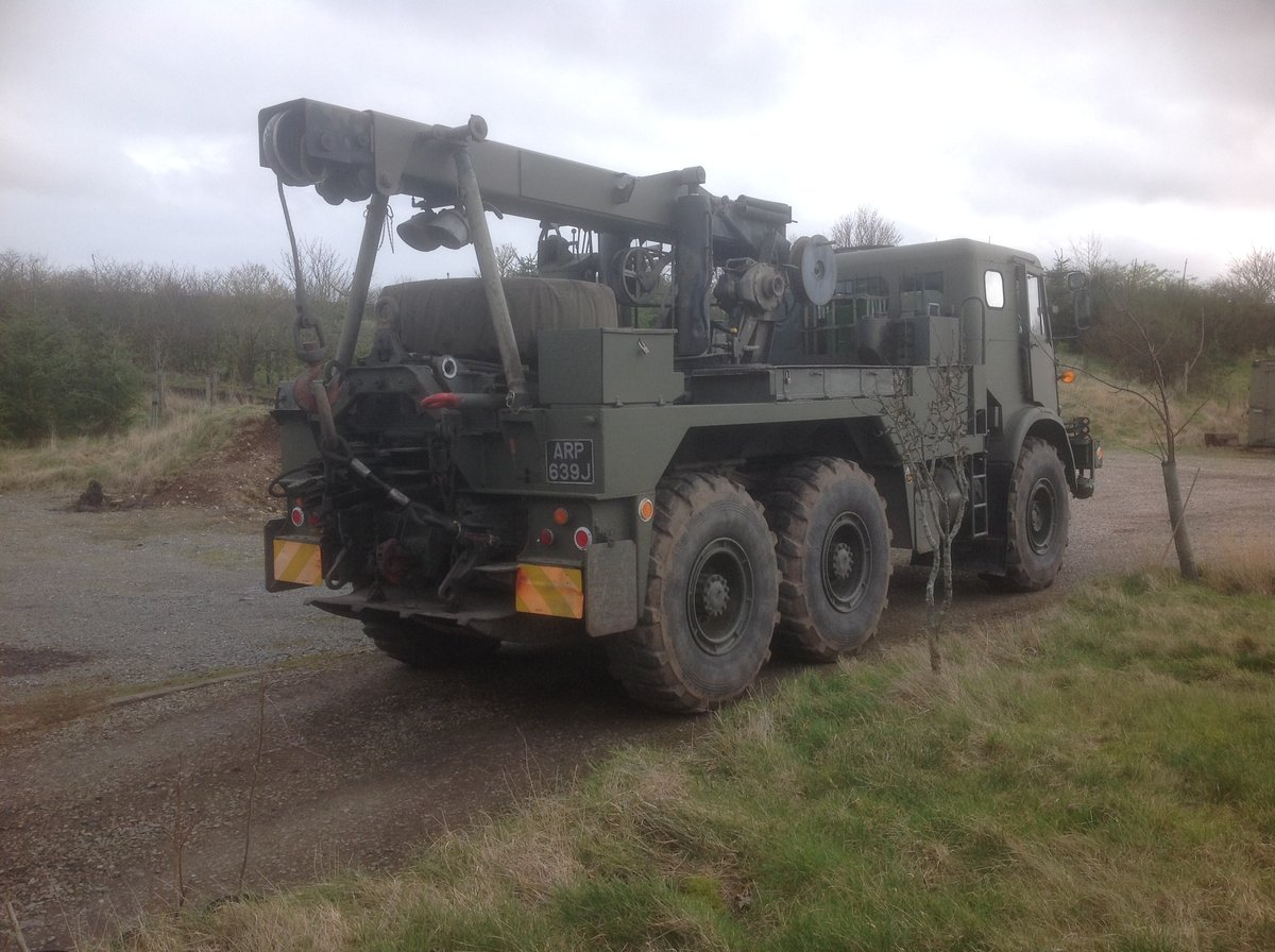 1970 Ex Army AEC Militant Mk3 Recovery For Sale (picture 3 of 6)