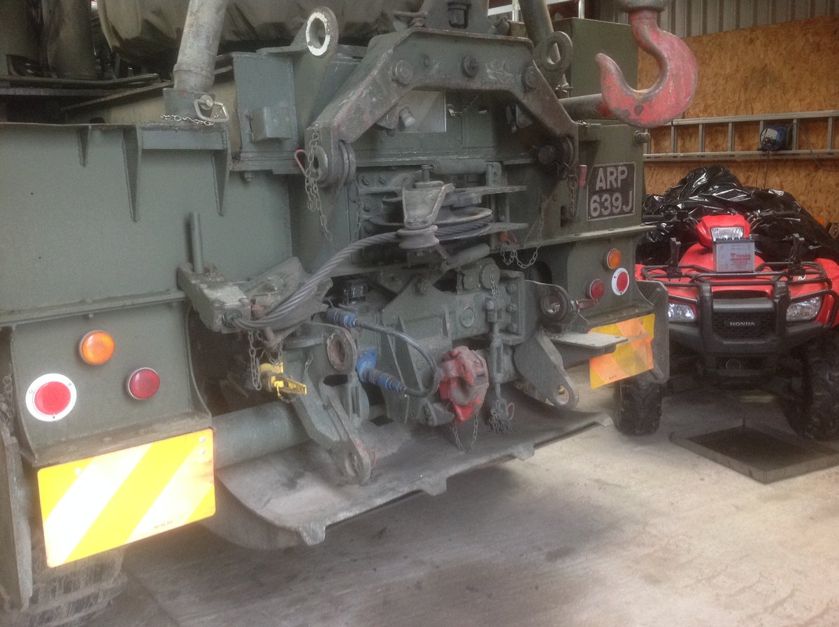 1970 Ex Army AEC Militant Mk3 Recovery For Sale (picture 5 of 6)
