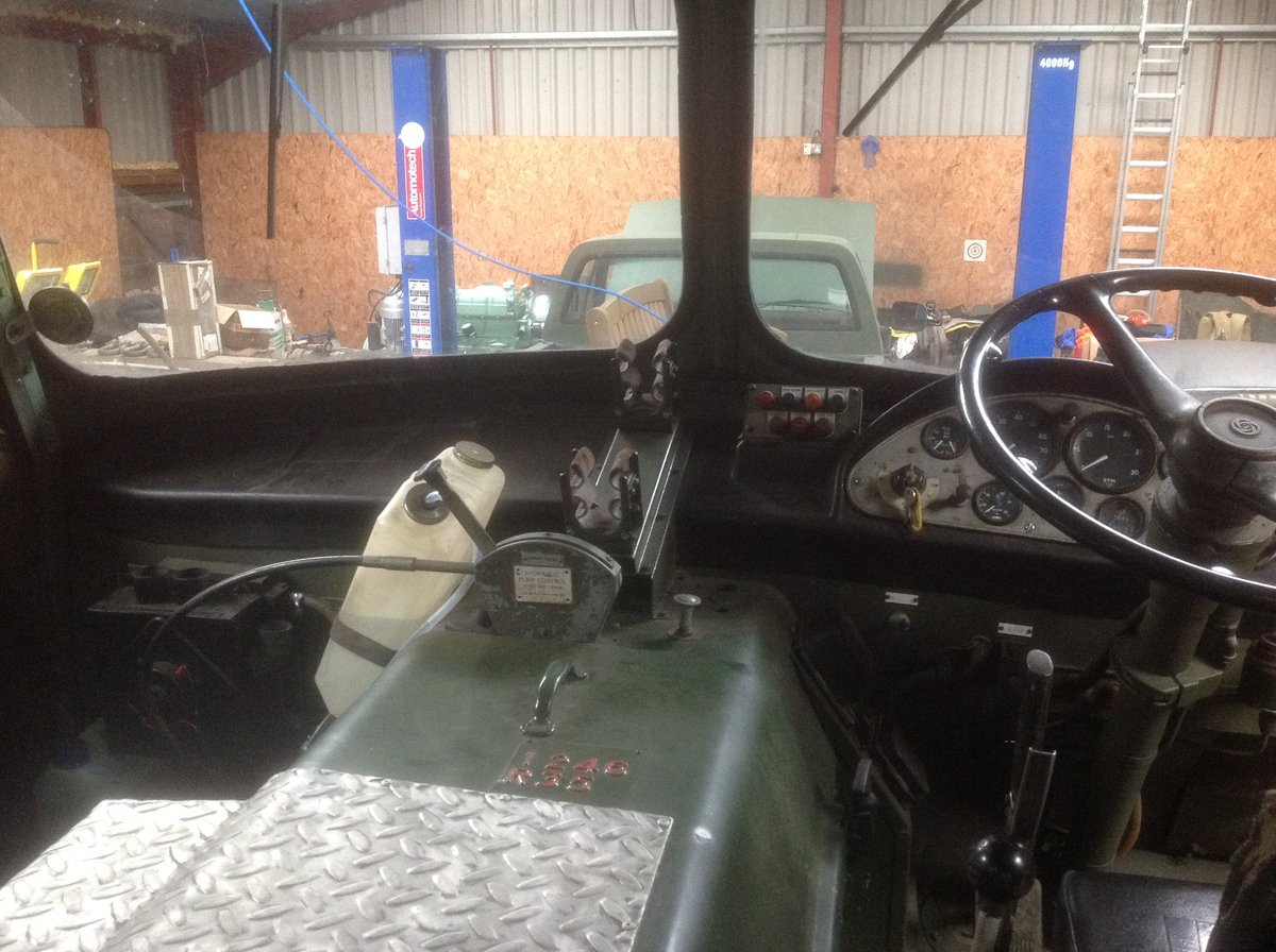 1970 Ex Army AEC Militant Mk3 Recovery For Sale (picture 6 of 6)
