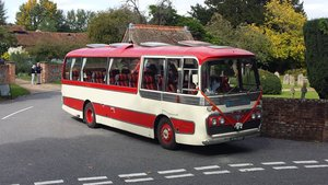 Ex Glenton Tours 1968 AEC Reliance Coach For Sale