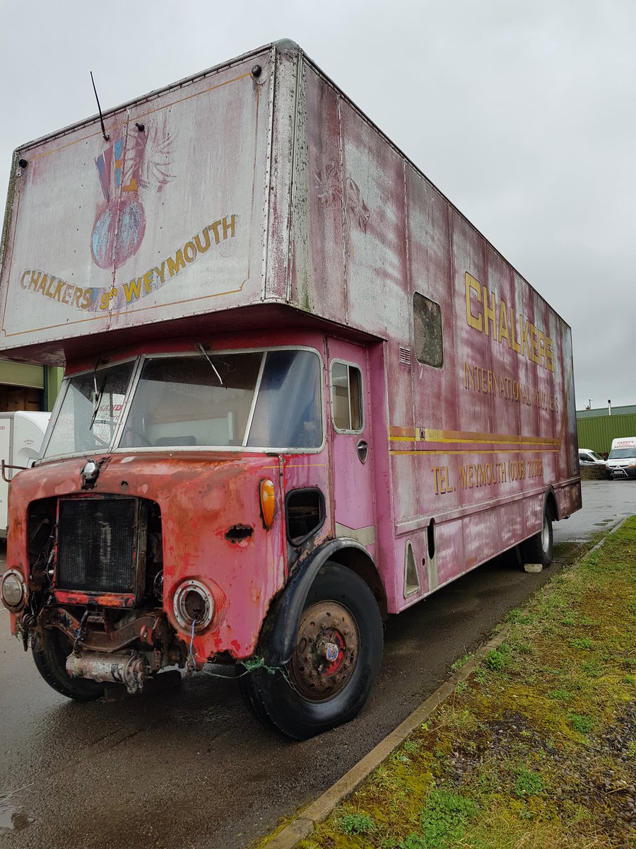 1966 AEC Mercury Removal Lorry For Sale (picture 1 of 6)
