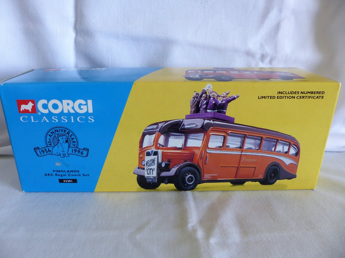 Aec REGAL COACH-FINGLANDS FOOTBALL 1:50 Scale MIB For Sale (picture 1 of 6)