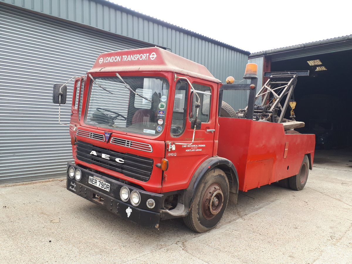 1975 AEC Recovery Truck For Sale (picture 1 of 6)