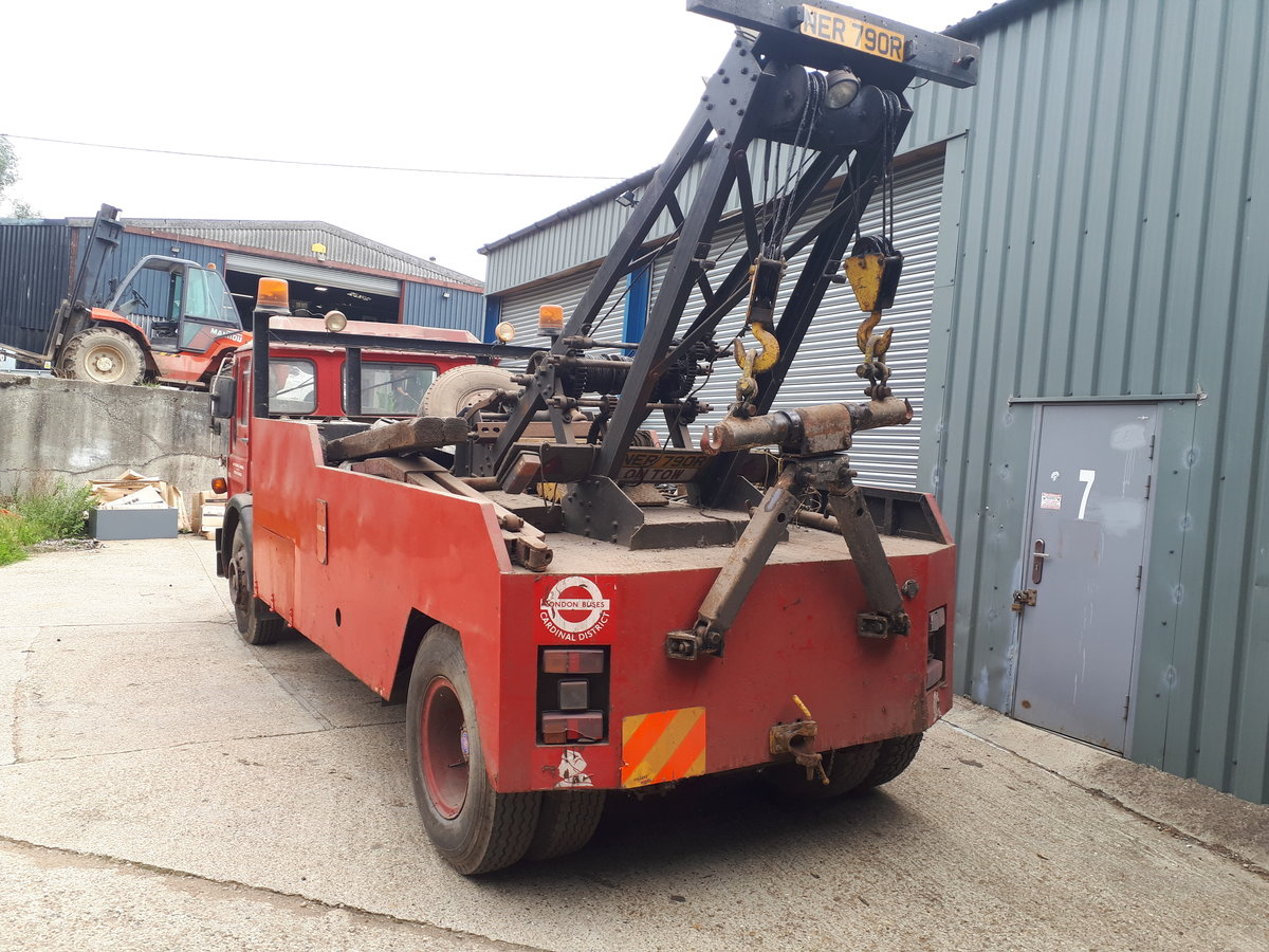 1975 AEC Recovery Truck For Sale (picture 2 of 6)