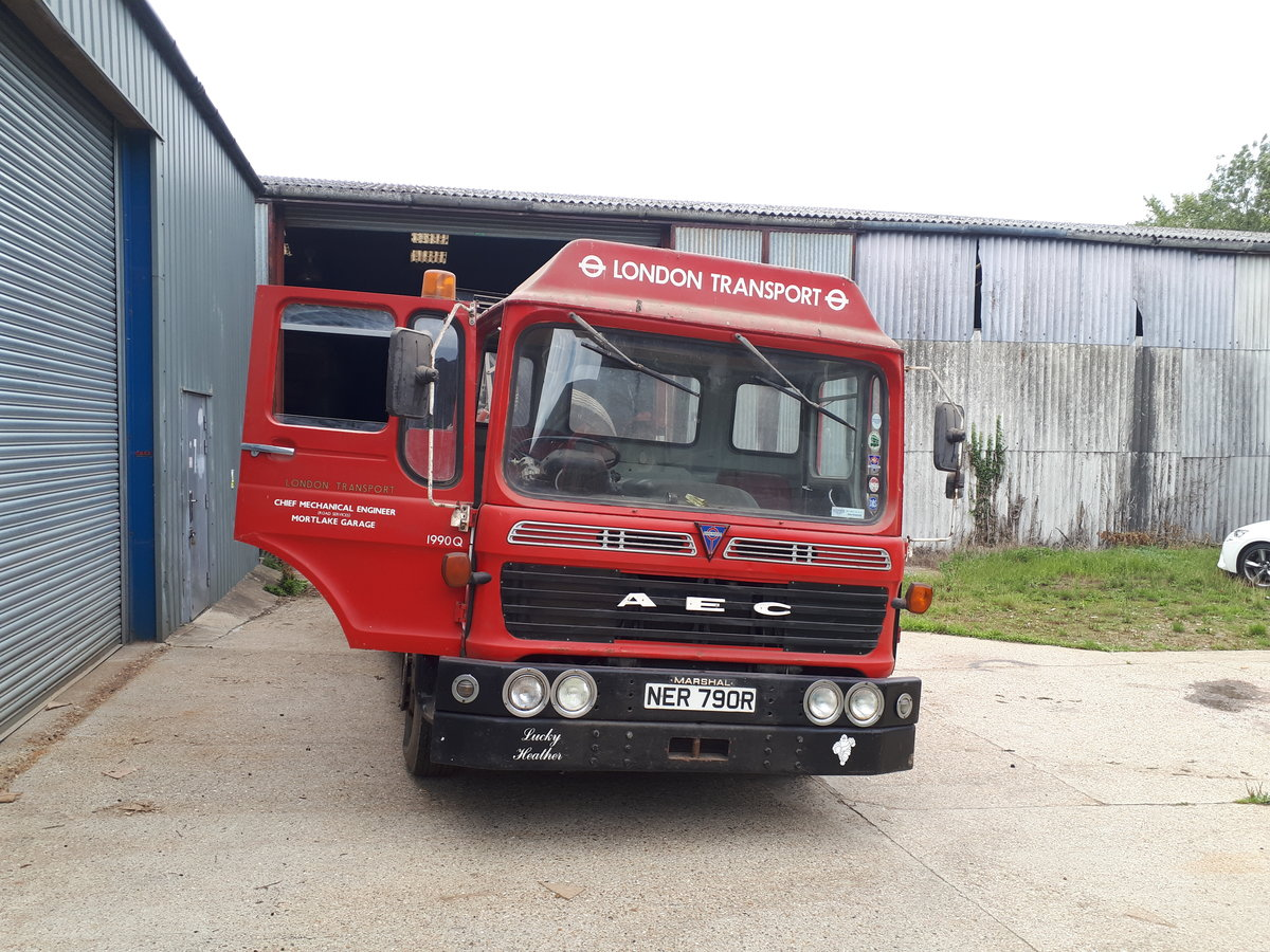 1975 AEC Recovery Truck For Sale (picture 3 of 6)