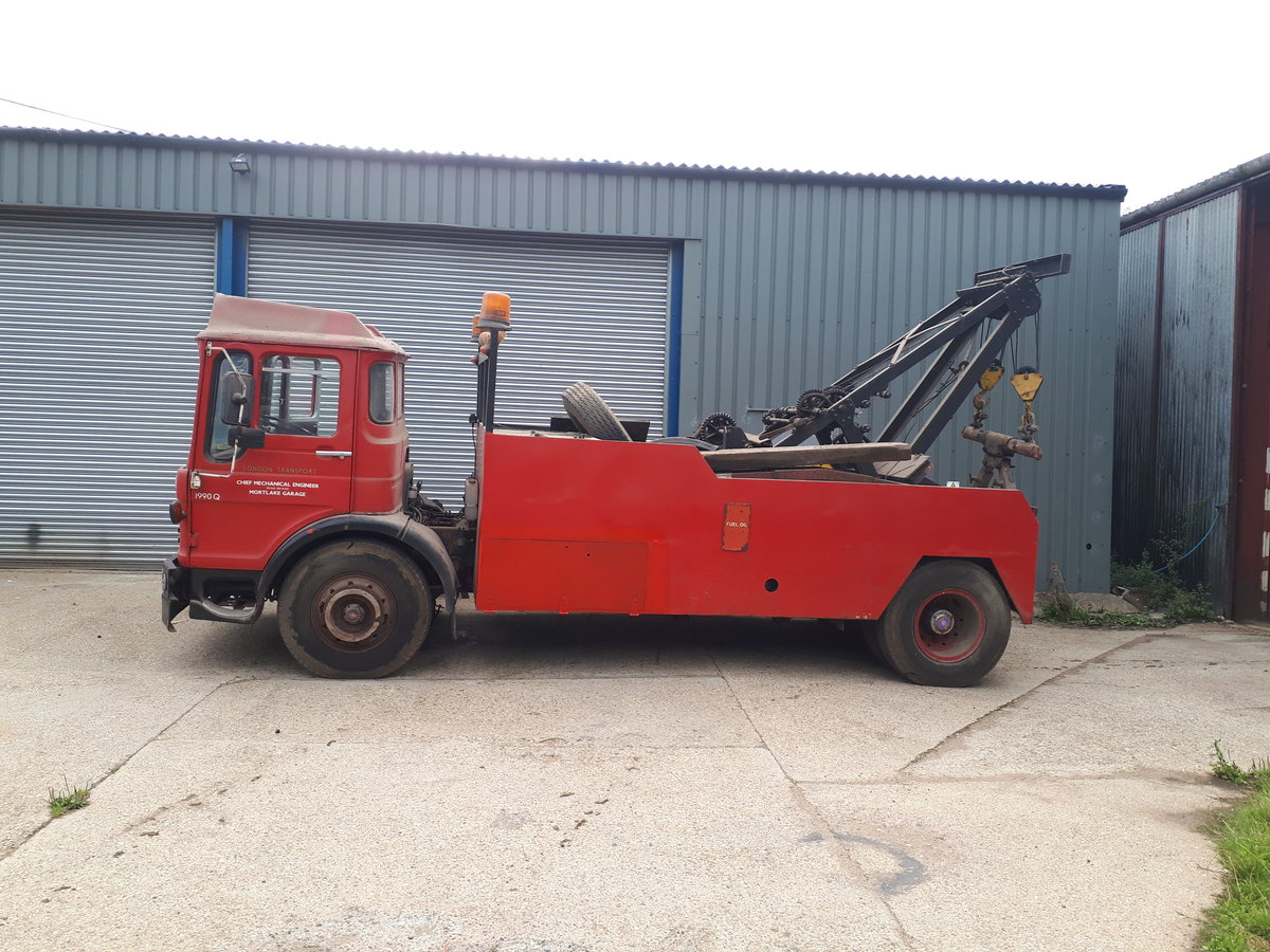 1975 AEC Recovery Truck For Sale (picture 4 of 6)