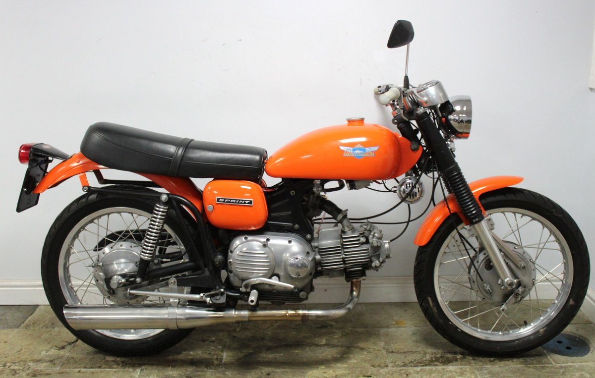 1972 Aermacchi 350 cc Sprint (350N) Beautiful Condition SOLD (picture 1 of 6)