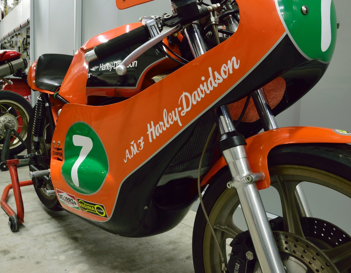 1974 Aermacchi Harley Davidson RR 250 For Sale (picture 3 of 6)
