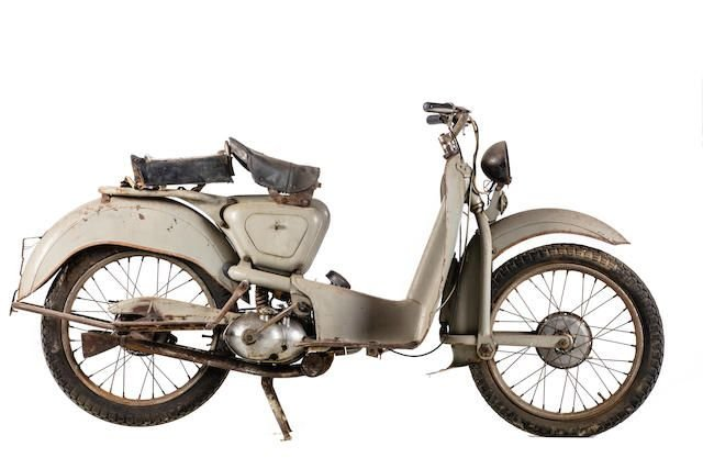 C.1952 AERMACCHI 125N (LOT 577) SOLD by Auction (picture 1 of 1)