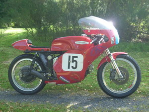 Aermacchi 350cc racer with Isle of Man History
