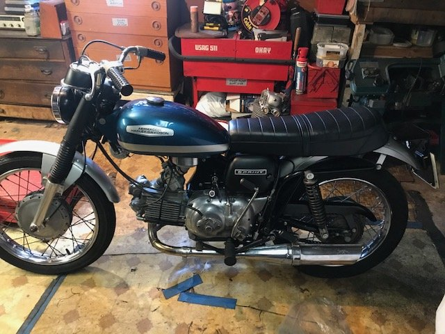 Picture of 1971 Aermacchi 350GT totally original and unrestored For Sale
