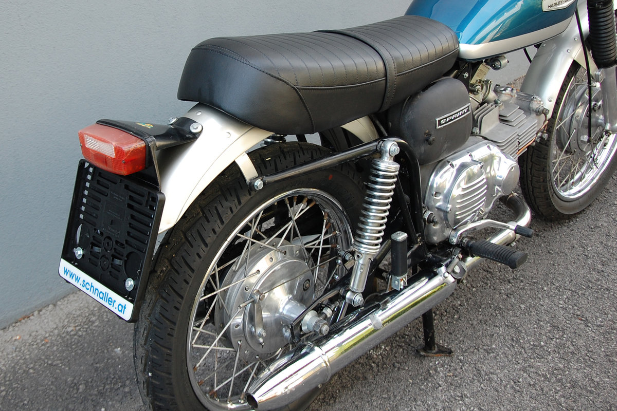 1972 Aermacchi-Harley Davidson 350 Sprint, mint condition. For Sale (picture 4 of 6)