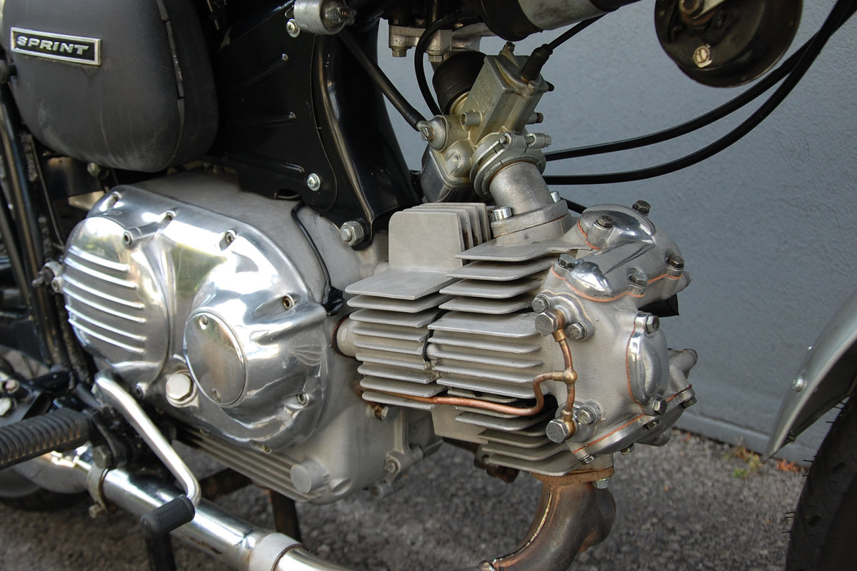 1972 Aermacchi-Harley Davidson 350 Sprint, mint condition. For Sale (picture 6 of 6)