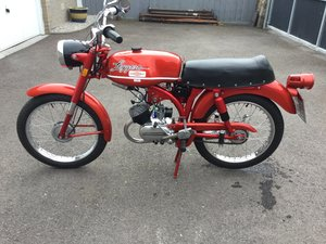 Harley Davisdson moped.