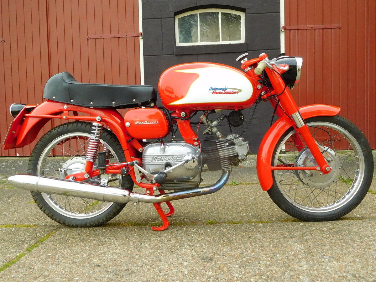 1965 Aermacchi Ala Verde in exellent condition For Sale (picture 1 of 6)