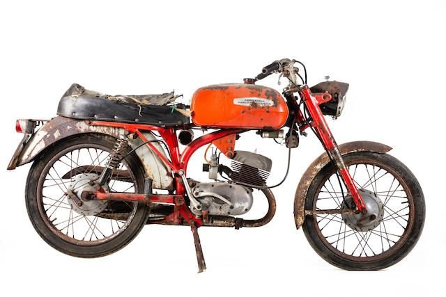 C.1965 AERMACCHI HARLEY-DAVIDSON ML 125 (LOT 548) SOLD by Auction (picture 1 of 1)