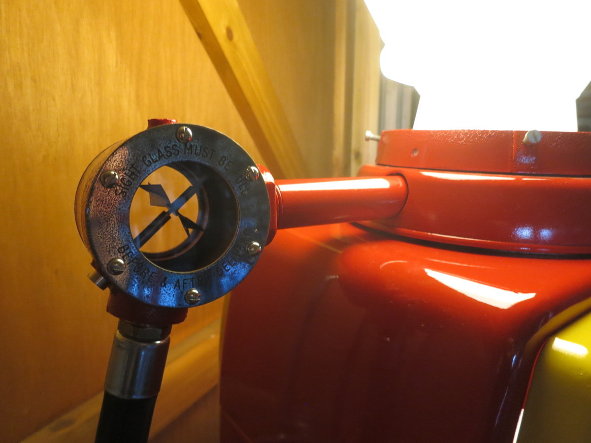 Avery Hardoll 1950's restored Shell petrol pump For Sale (picture 4 of 6)