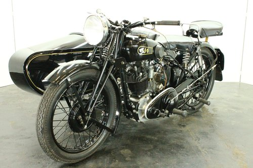 AJS 35/18 1935 500cc 1 cyl ohv combination For Sale (picture 1 of 6)