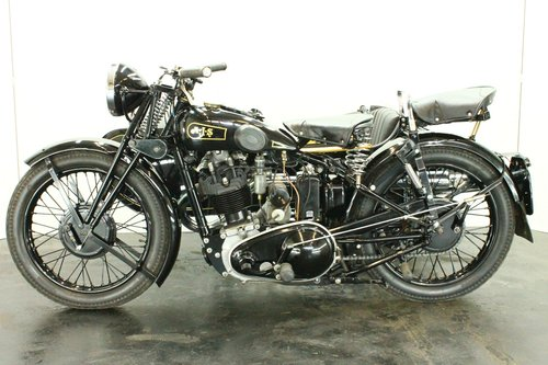 AJS 35/18 1935 500cc 1 cyl ohv combination For Sale (picture 2 of 6)