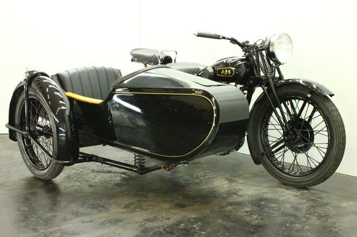 AJS 35/18 1935 500cc 1 cyl ohv combination For Sale (picture 3 of 6)