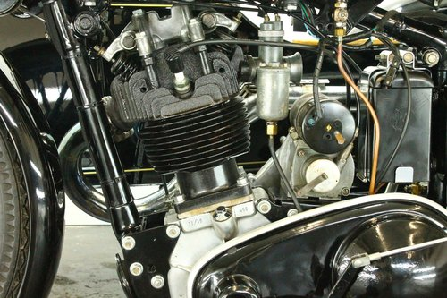 AJS 35/18 1935 500cc 1 cyl ohv combination For Sale (picture 5 of 6)