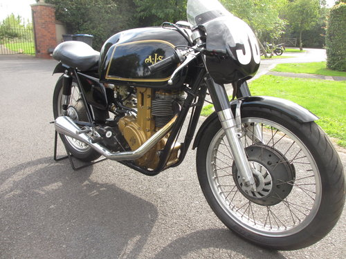 Ajs 7r boy racer 1956 350cc For Sale (picture 2 of 2)