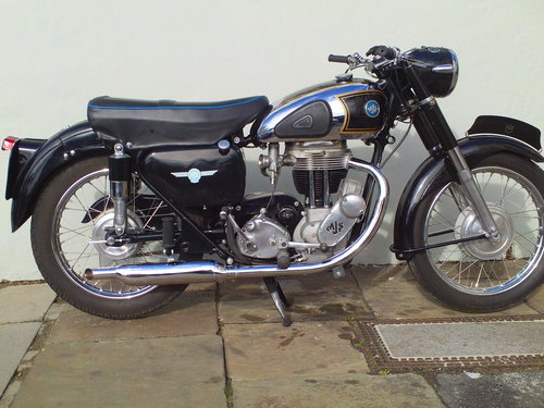 1956 AJS 18MS 500 SOLD (picture 1 of 6)