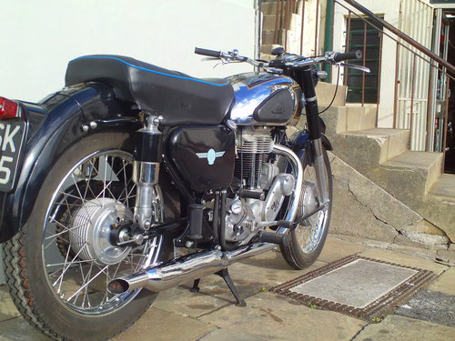 1956 AJS 18MS 500 SOLD (picture 2 of 6)