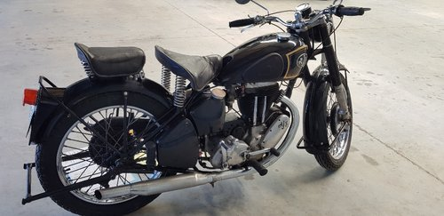 1950 AJS Single 500cc Motorcycle by Firma Trading Australia SOLD (picture 5 of 6)