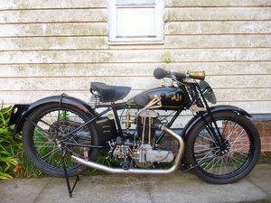 1929 AJS Big Port 350cc SOLD