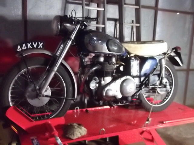 AJS 1958 30CSR 600cc Twin Bike For Sale (picture 1 of 1)