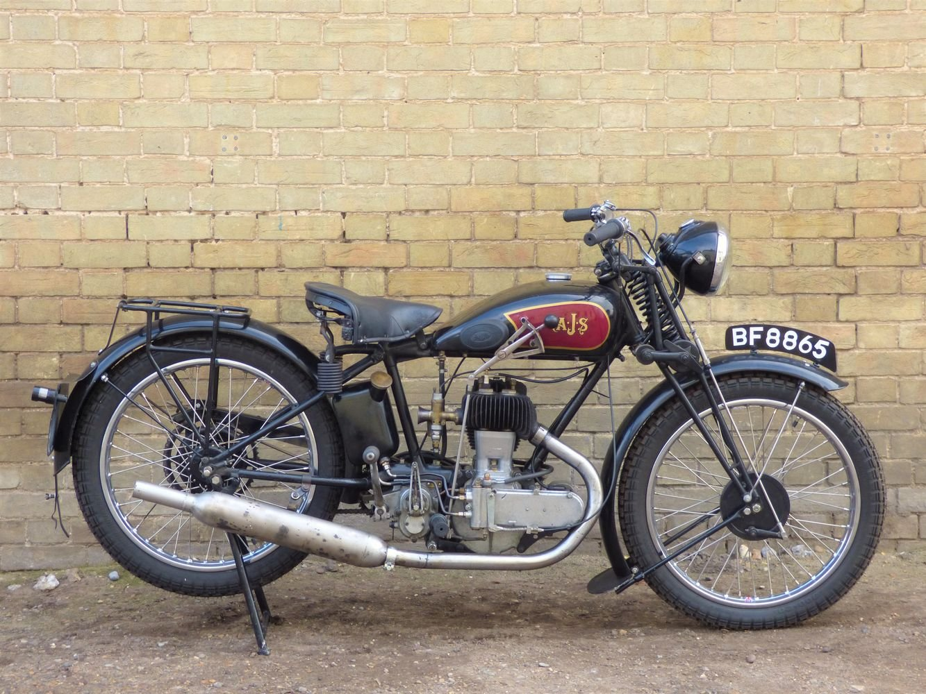1929 AJS M5 350cc For Sale (picture 1 of 6)