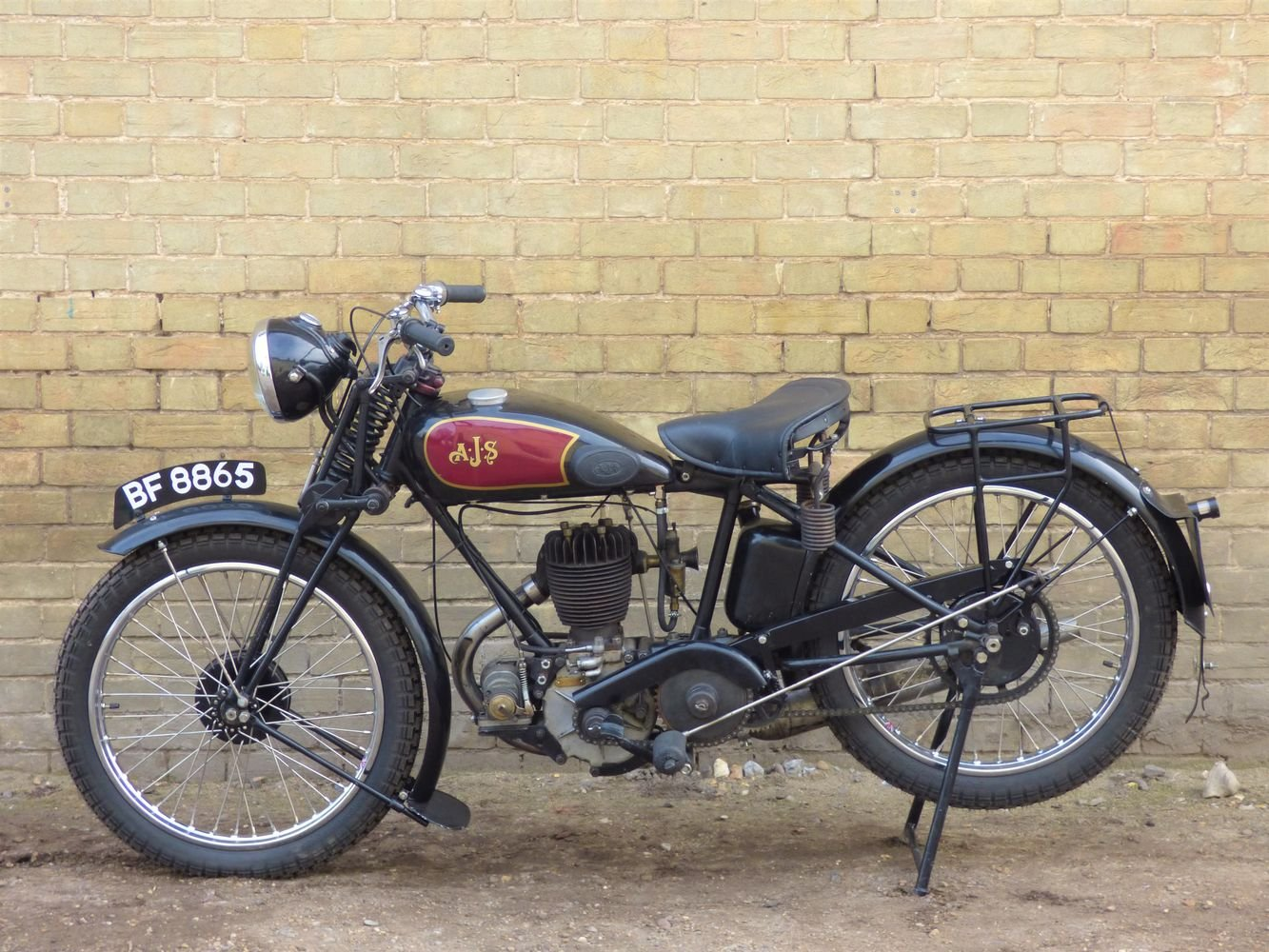 1929 AJS M5 350cc For Sale (picture 2 of 6)