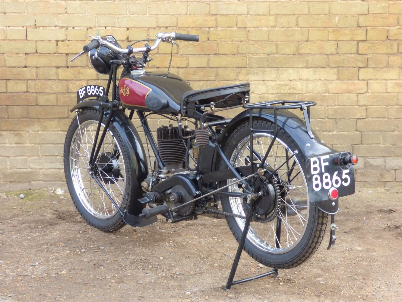 1929 AJS M5 350cc For Sale (picture 5 of 6)