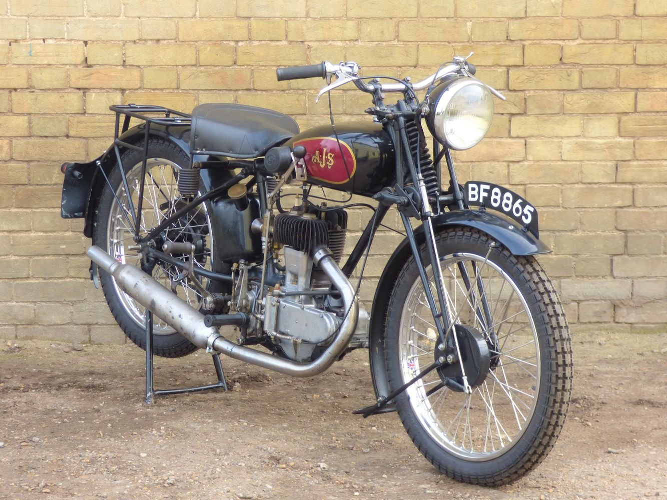 1929 AJS M5 350cc For Sale (picture 6 of 6)