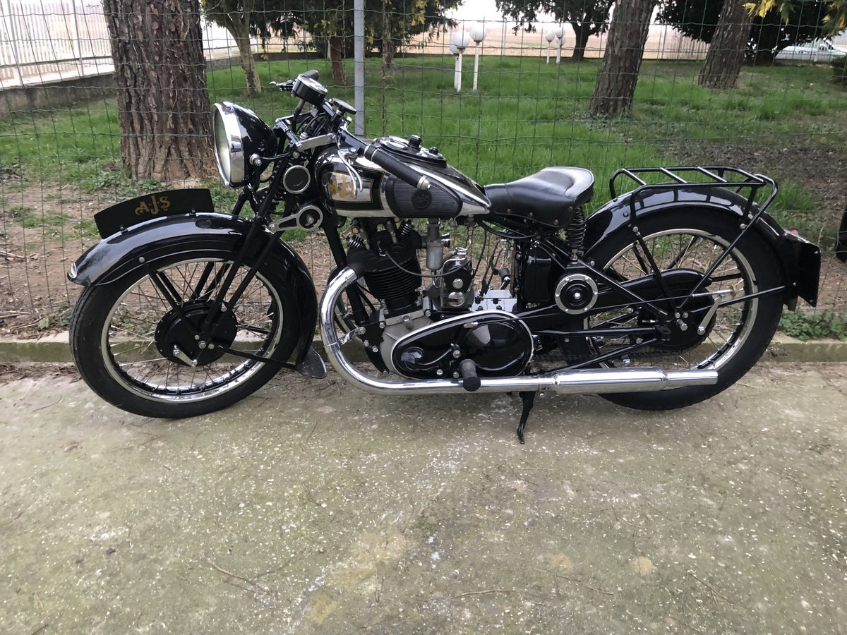 1934 AJS model 34/8 For Sale (picture 1 of 6)