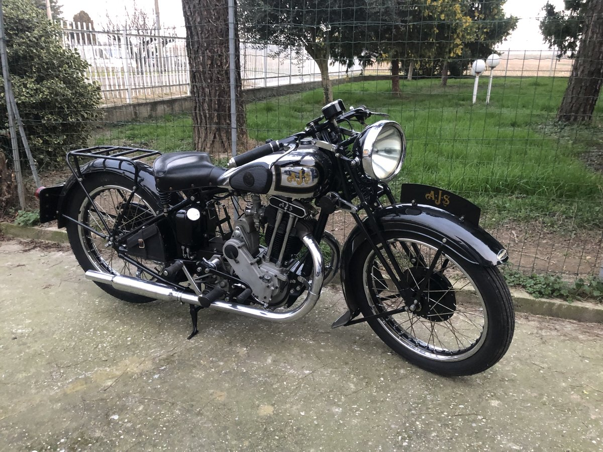1934 AJS model 34/8 For Sale (picture 4 of 6)