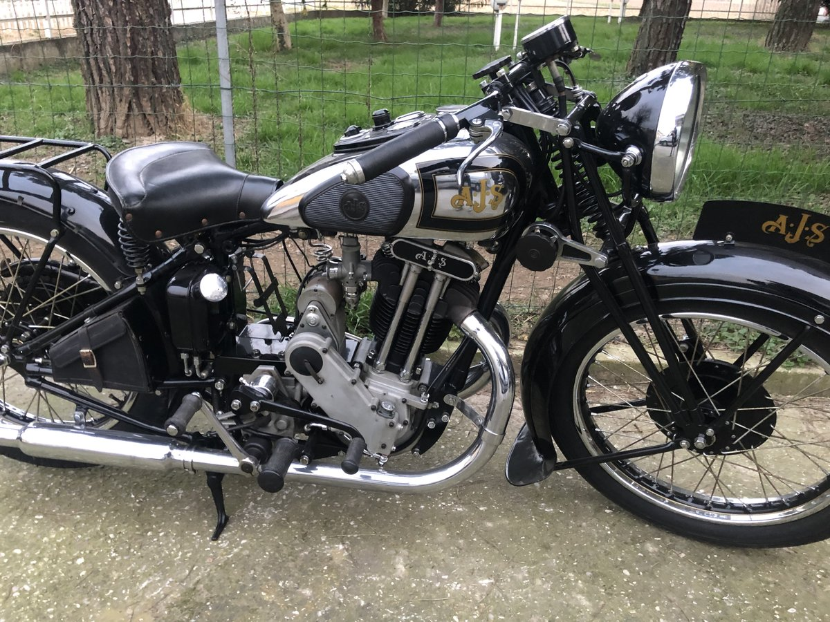 1934 AJS model 34/8 For Sale (picture 5 of 6)