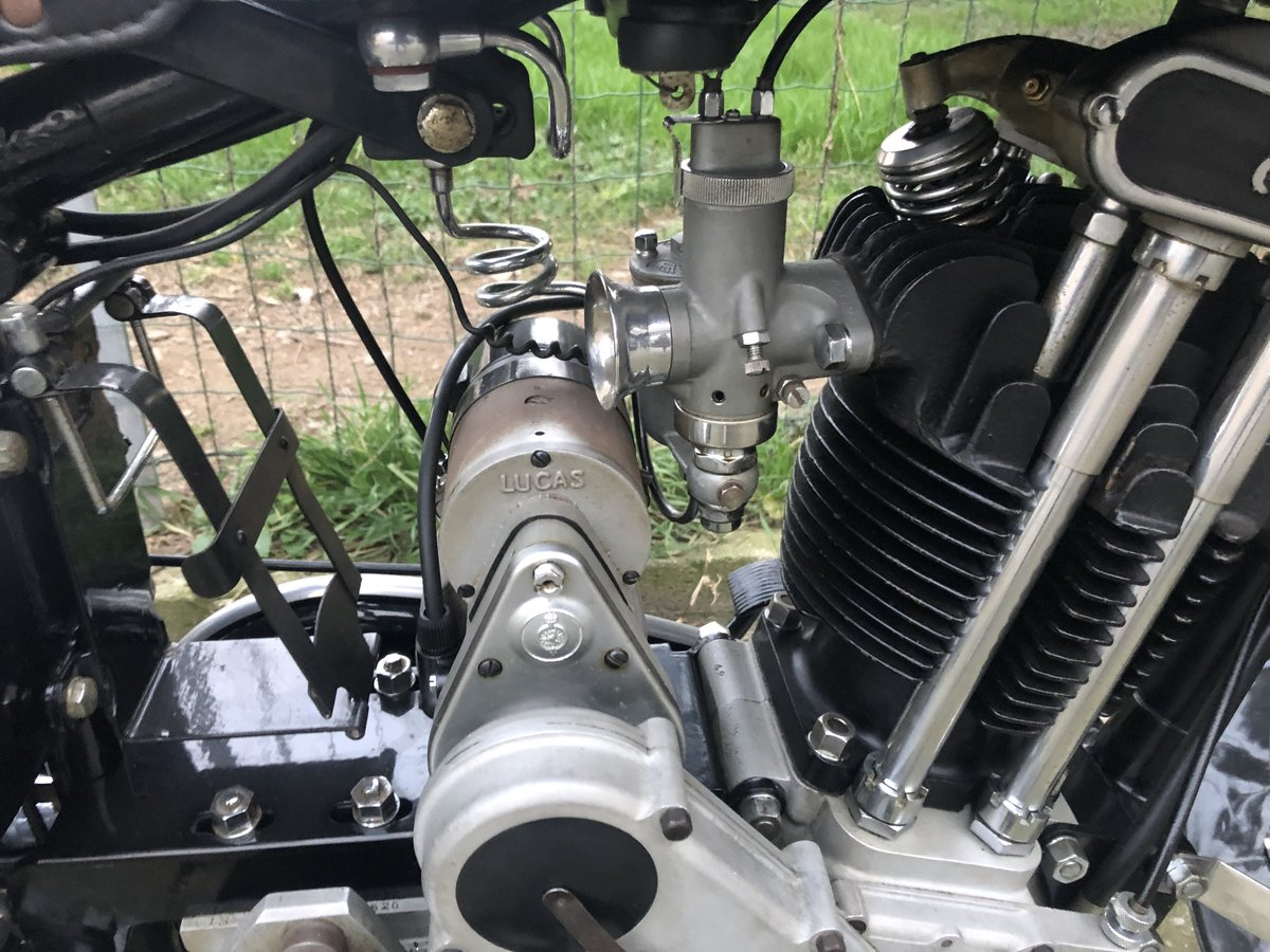 1934 AJS model 34/8 For Sale (picture 6 of 6)