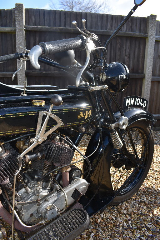A 1927 AJV V Twin combination - 01/06/219 For Sale by Auction (picture 6 of 6)