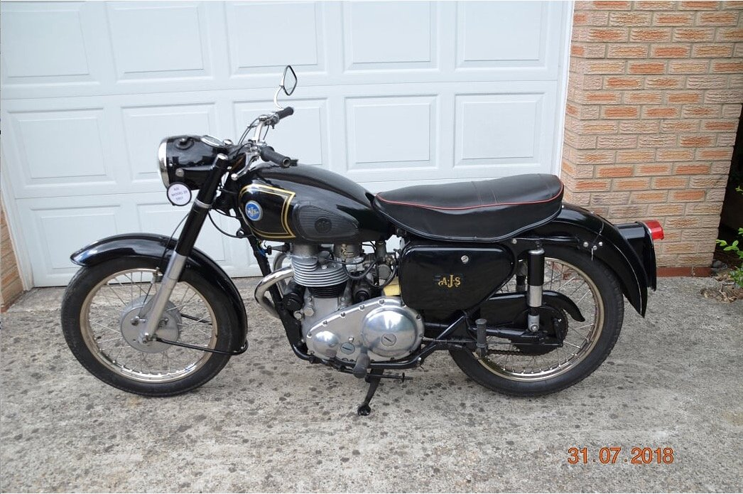 AJS MODEL 20 500cc 1957 For Sale (picture 3 of 4)