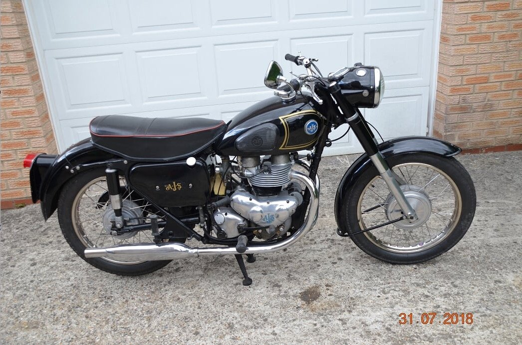 AJS MODEL 20 500cc 1957 SOLD (picture 4 of 4)