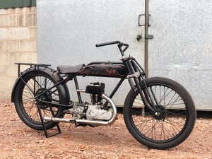 1928 AJS Flat Tanker Model K4 350cc SOLD