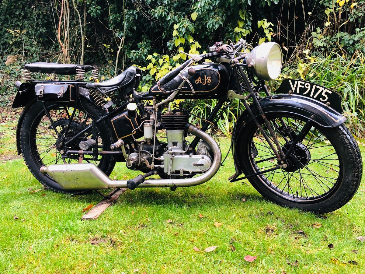 A.J.S S5 1931 350cc For Sale (picture 2 of 6)